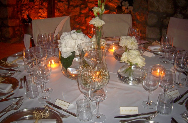 La Canzone del Mare - table setting