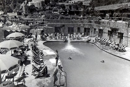 La Canzone del Mare - pool photos from the 1950s